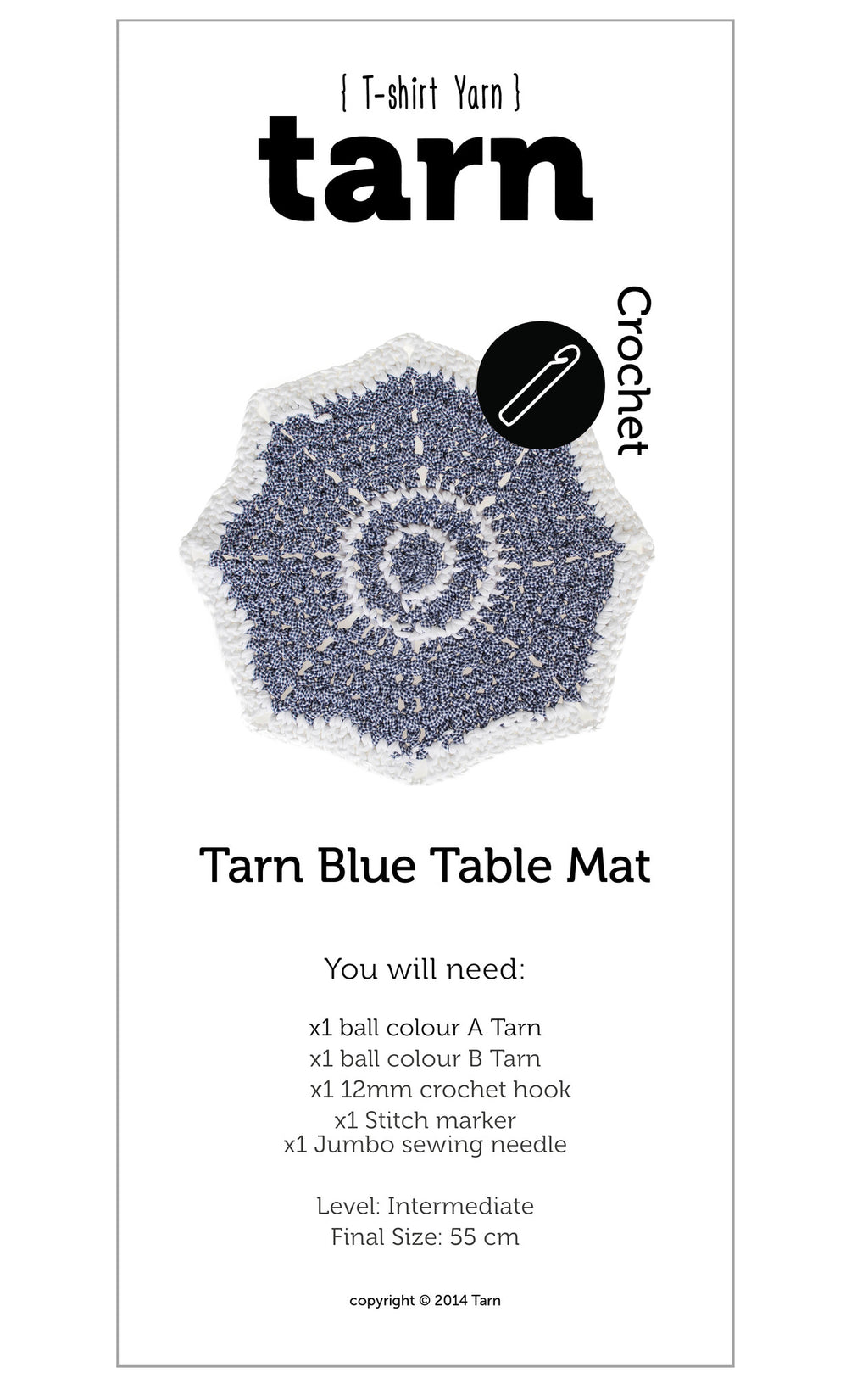 Blue Table Mat