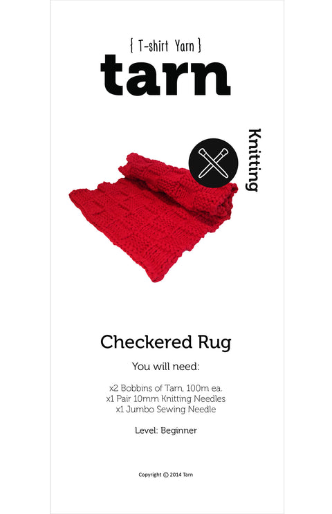 Checkered Rug Pattern - Online only