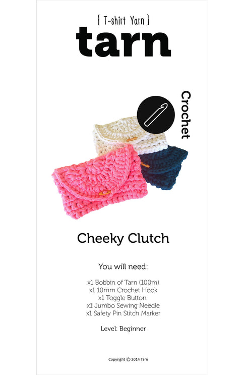 Cheeky Clutch Pattern - Available Online Only