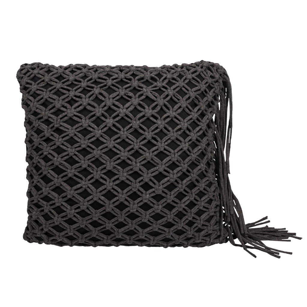 Scatter Cushion - Macramé