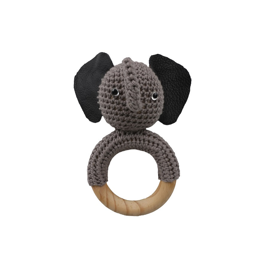 SALE Elephant Teether Rattle