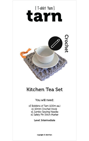 Kitchen Tea Set Pattern