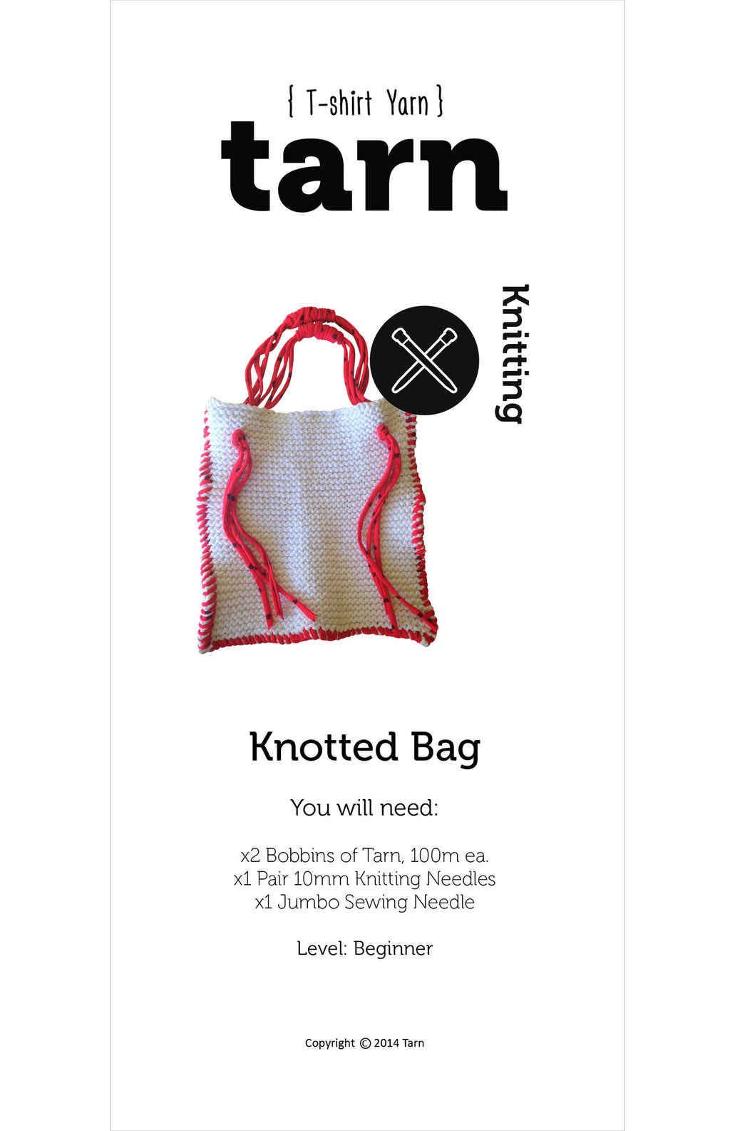 Printed Knotted Bag Pattern