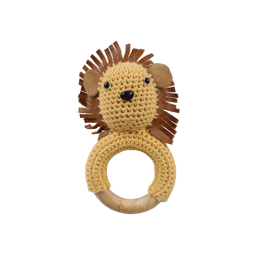 SALE Lion Teether Rattle