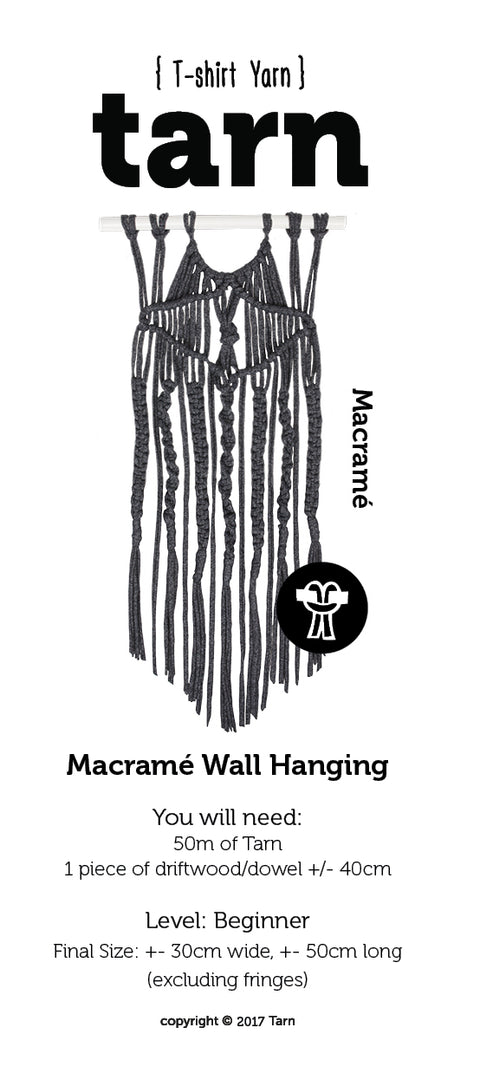Macrame Wall Hanging Pattern