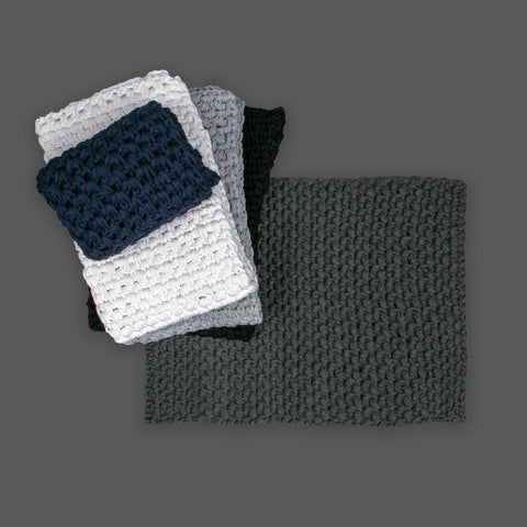 SALE 75cm by 50cm  Moss Stitch Bathmat - ASSORTED COLOURS