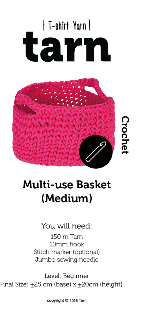 Multi-use Basket Medium Pattern