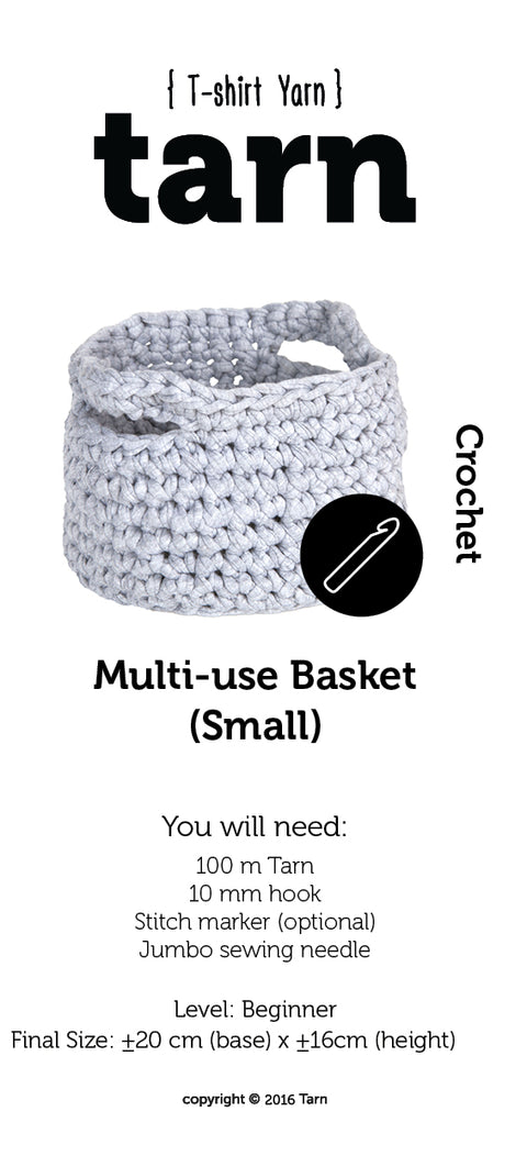 Multi-use Basket Small Pattern