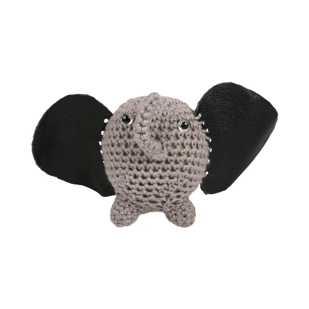 Cotton Baby Shaker - Elephant