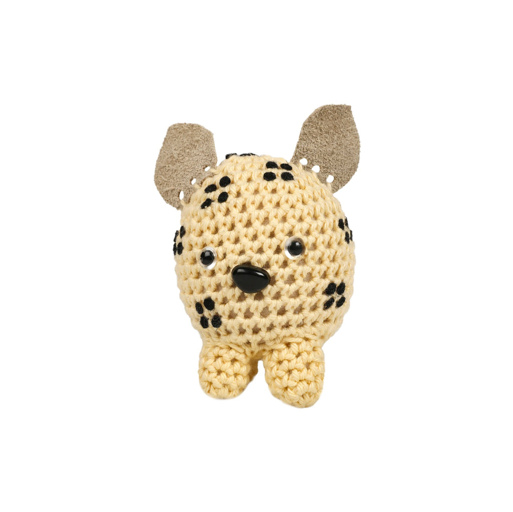 Cotton Baby Shaker - Leopard