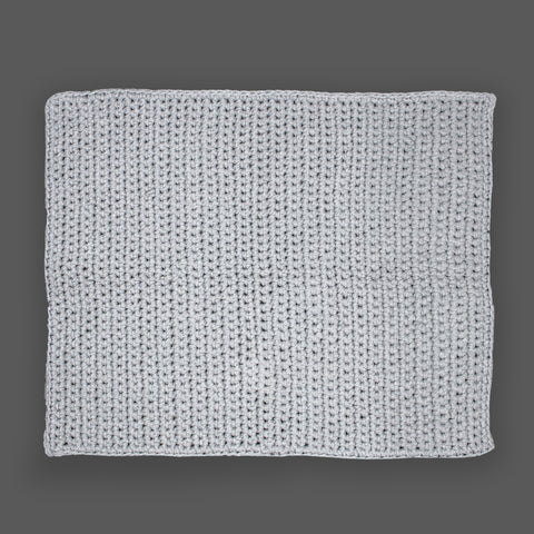 Grey Single Stitch Bathmat 50 by 75