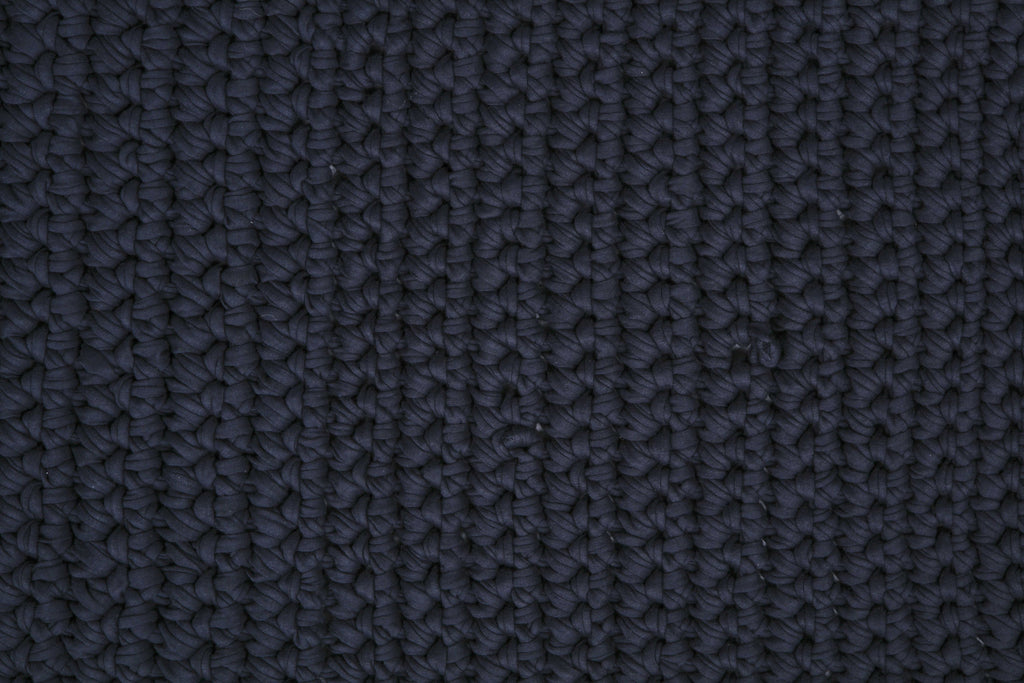 Navy 80cm by 100cm Single Stitch Mat