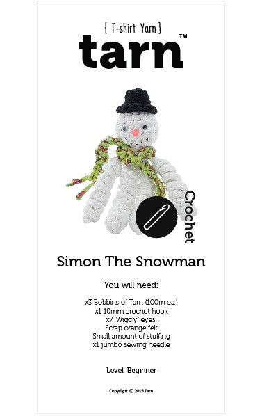 Simon The Snowman Pattern (available online only)