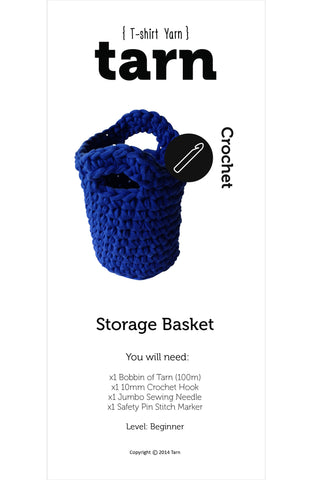 Storage Basket Pattern