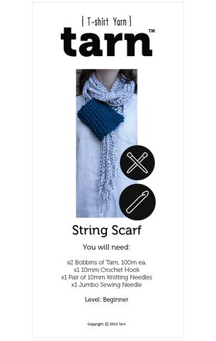 String Scarf Pattern