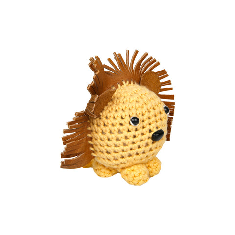 Cotton Baby Shaker - Lion