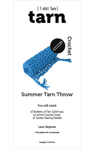 Summer Tarn Throw