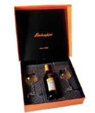 Load image into Gallery viewer, Lamborghini Gift box including 2 Wine Glasses for 750ml Bottle