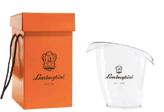 Lamborghini Ice Bucket in Gift Box for 750ml Bottle