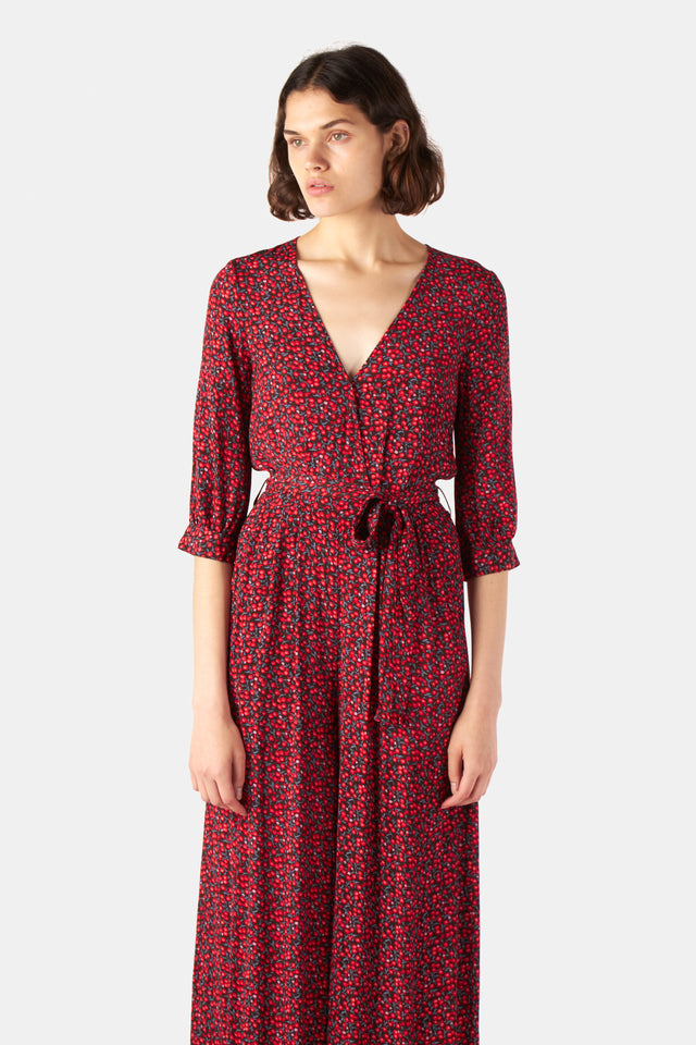 Winterberry playsuit