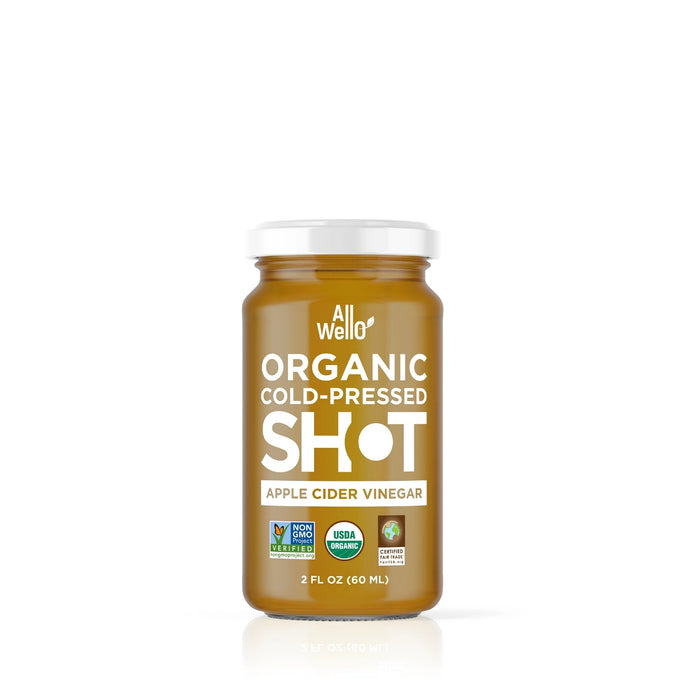 AllWellO Organic Cold-Pressed Apple Cider Vinegar Shot