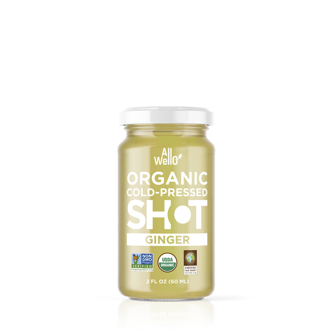 AllWellO Organic Cold-Pressed Ginger Shot