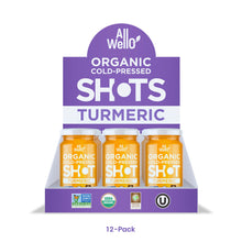 Load image into Gallery viewer, AllWellO Organic Cold-Pressed Turmeric Shot