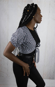Cute African Women's Top