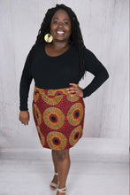 Load image into Gallery viewer, African Pencil Skirt