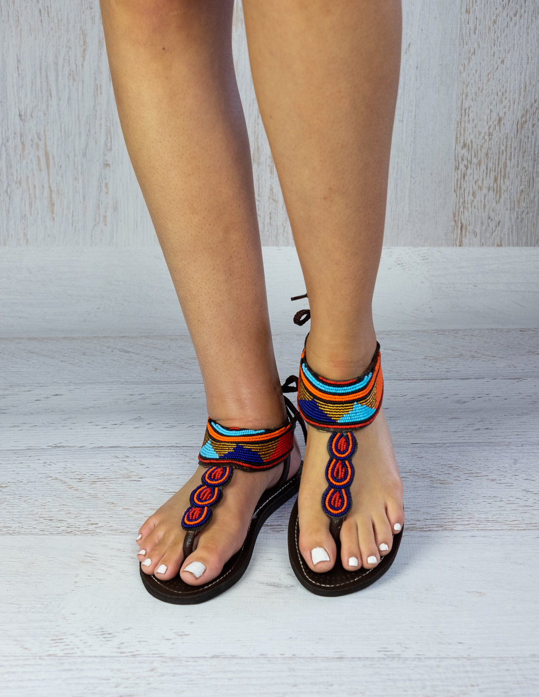 Bold Leather Sandals