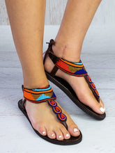 Load image into Gallery viewer, Bold Leather Sandals