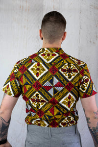 Classy African Fabric Shirt