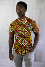 Load image into Gallery viewer, Classy African Fabric Shirt