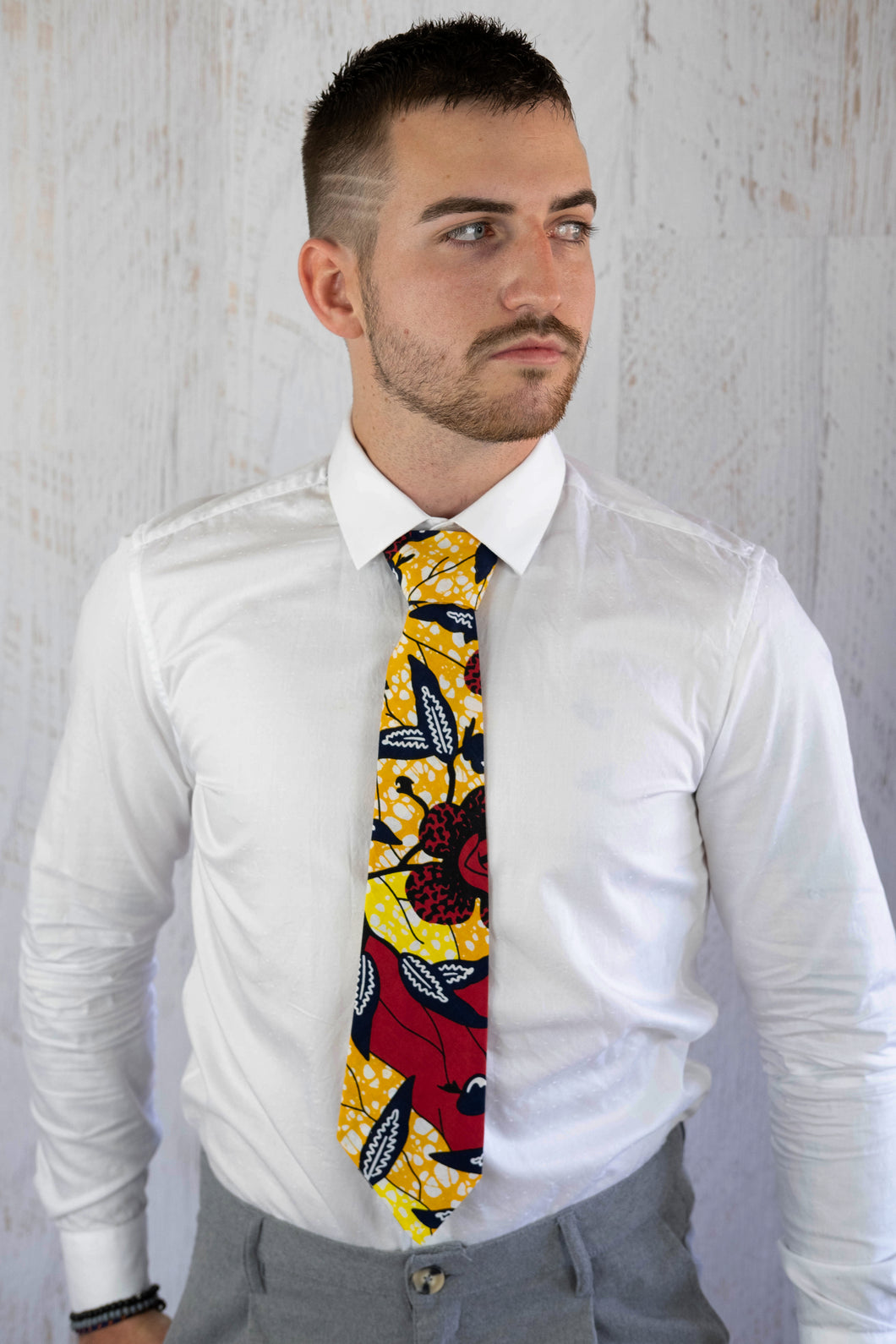 Floral Tie African Fabric