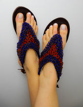 Load image into Gallery viewer, Navy Blue Sandal