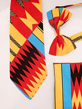 Load image into Gallery viewer, Aztec African Tie