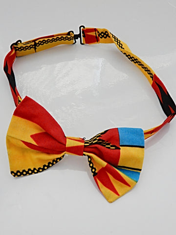 African Bow Tie Set