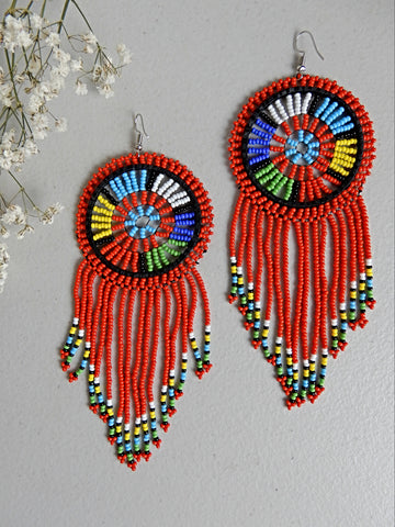 Red Formal Earrings