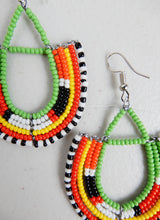 Load image into Gallery viewer, Half Loop Drop Earrings