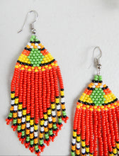 Load image into Gallery viewer, Dangle Beaded Earrings