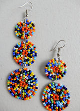 Load image into Gallery viewer, Handmade Beaded Earrings