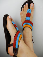 Load image into Gallery viewer, Tropical African Sandals