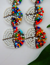 Load image into Gallery viewer, Beaded African Earrings