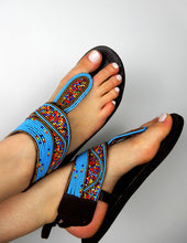 Load image into Gallery viewer, Bleu De France Sandal