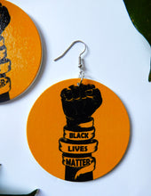 Load image into Gallery viewer, Black Lives Matter Earrings