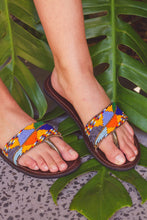 Load image into Gallery viewer, Afrix Style 37 (Size 6) Mexican Fiesta Sandals