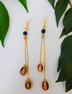 Afrix Style Drop Earring Shell Earrings