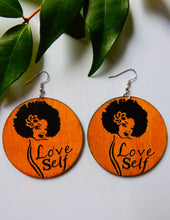 Load image into Gallery viewer, Afrix Style Self Love Earring