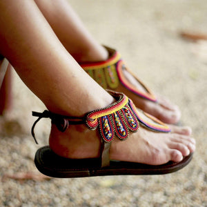 Afrix Style Shoes Open Toe Sandal
