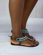 Load image into Gallery viewer, Afrix Style Summer Sandals
